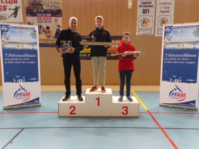 Podium Challenge Nationale A 2018