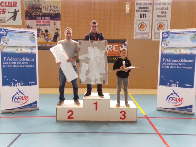 Podium Challenge Nationale B 2018